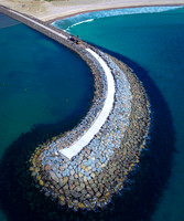 Shell Cove Marina sea wall